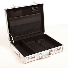 professional custom aluminum briefcase ABS silver new laptop bag RZ-SB-023
