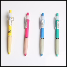 Special slim lovely cute plastic ball pen with cartoon pictures