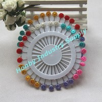 Free shipping,Honby 55mm Flower Sewing Pins