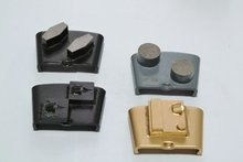 Abrasive polishing block for soft,medium,hard concrete grinding