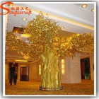 china fabricante barat artificial artificial de plástico grande grande e árvores decorativas para o casamento decoração casa e j