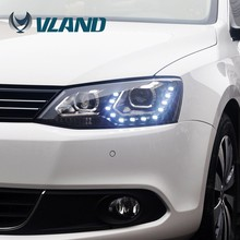 CE CCC ISO9001 Vland China unique car accessories 12V car head led light auto headlight assembly/