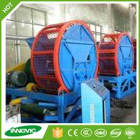 High efficiency waste tyre shredder machine for rubber chips