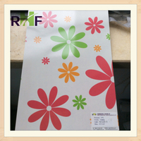 Glossy High Pressure Laminate with Flower Design/Formica/HPL board for Decoration
