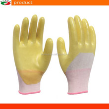 13 Gauge 15 Gauge Nylon PVC Dipped Rubber Gloves PVC Gloves Safety Gloves