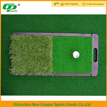 mini size portable indoor or outdoor practice rubber base golf mat