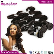Top quality indian human hair , unprocessed natural raw virgin indian hair wholesale