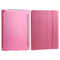 Foldable case for iPad mini 1/2/3, tablet cases for ipad mini with silk pattern, new products 2015