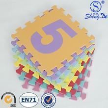 Wholesale EVA foam tatami puzzle mat