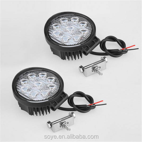 4inch 27W LED Work Light, Off road, ATV, SUV, 4x4 work lamps