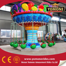 China factory manufacturer Amusement rides fruit flying chair Outdoor equipment for sale