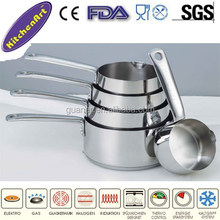 5pcs stainless steel cookware