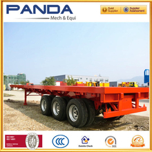 Container Carrier Semi Trailer, 40ft Flatbed Semi Trailer for Container Carrier, Semi Trailer