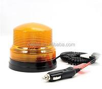 ABS yellow/bule warning police car spot light 12v Magnetic base g-spot wizard glass dildo