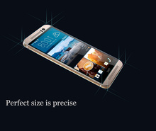 Glas tempered for htc one m9 screen protector film buff for htc one m9