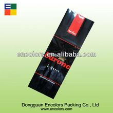 lateral del escudete bolsa para el envasado de café