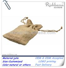 Promotional gift jute bag cocoa beans,jute tote bag,jute sand bag