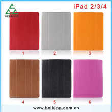 Smart cover leather case for ipad mini/2/3/4, for ipad tablet case, for ipad smart cover