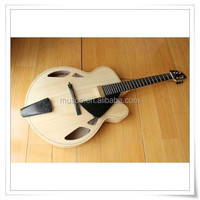 """MUSOO BRAND AAA-Hand-carved Archtop 17"""" Jazz Guitar With Case(AR700)"""