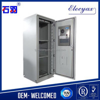 Control box type industrial instrument enclosure/SK-345/Steel galvanized outdoor cabinet with air conditioner, lock