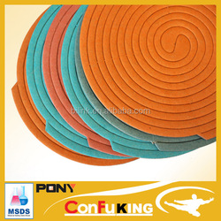 China powerful effect natural plant fiber mosquito coil