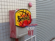 Basket Ball Board with Hoop and Ball