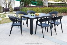 plastic rattan chair outdoor furniture
