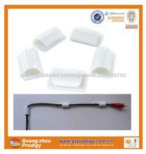 Extraíble de plástico auto adhesivo ganchos y los clips, extraíble ganchos de pared decorativos