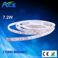 Flexible LED Strip / Strips / strip, 5m, 30 LEDs / 5050 SMD, 12V, IP65, white, warm white, red, green, blue, pink, yellow
