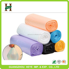 Professional customized HDPE trash bag for cars