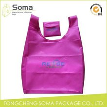 High quality promotional die cut shopping bag