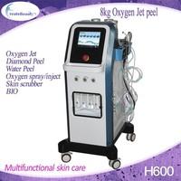 ultrasonic skin facial scrubber peeling machine