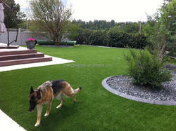 Landscaping artificial turf for dog runs, garden