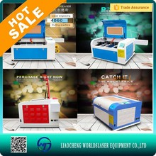 Water cooling off-line Acrylic/ Wood/Rubber/Plastic/Glass/Paper/colth/fabric laser engraver/cutting machine