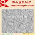 Tela de poliéster de algodón con técnica de Jacquard, con capa de fibra, tendencias de moda de 2015