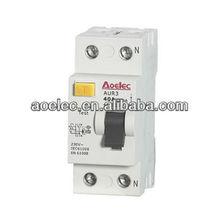 AUR3 CE mark Modular Electrical RCCB current rating 16A