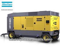 25bar Used Atlas Copco Portable Air Compressor XRVS1050Cd