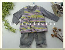 Raya niño conjunto de ropa para niña/ropa niños/ropa infantil 3 pcs
