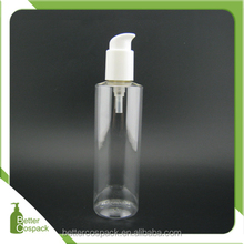 8 oz empty hair lotion bottle facial pump bottle for customic use
