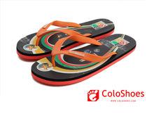 Classic design men rubber sandals flat 2012