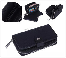 PU Leather Wallet Bag Pouch Case for iPhone 6, Mobile Phone Accessory