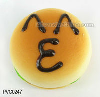 fashional artificial hamburger pendant