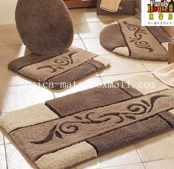 5 Pieces Microfiber Bath Rug Set Buy Find Complete