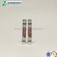 aluminum plastic ointment tube with conical tip screw cap