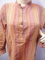 KTMK-6 Wholesale Standing Collar Handmade Cotton Kurtas From Jaipur Long Sleeves Indian Cotton Kurtas For Men / Women 50 pcs