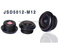 car rearview optical glass lens M12 lens mount wide-angle rear window lens