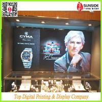 Digital light film advertising printing / waterproof backlit fim