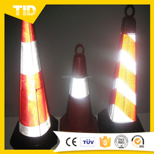 Reflective Adhesive Sticker Sleeve For Cone