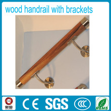 Modern high quality antique style wood stair handrail
