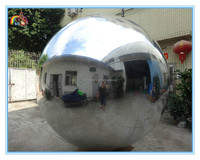 Factory price inflatable mirror ball,inflatable mirror balloon,inflatable stainless steel spheres for advertising to sale